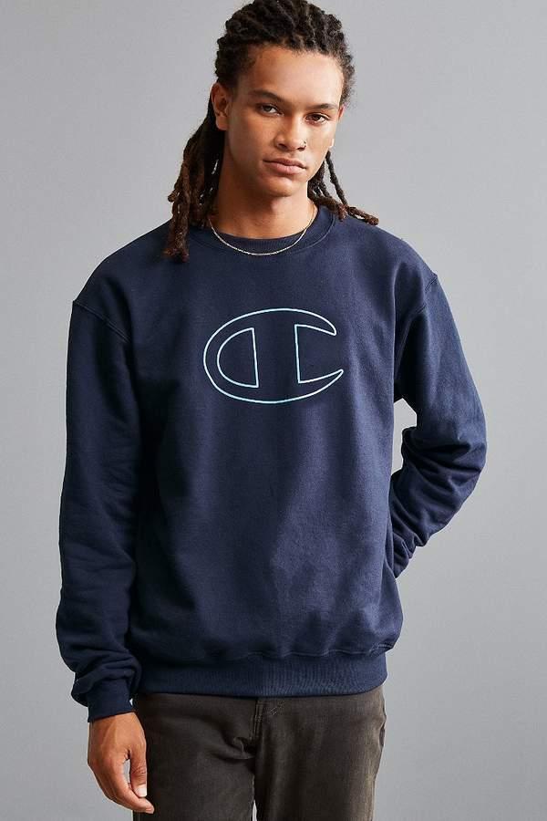 brand Champion Champion Big C Crew Neck Sweatshirt
