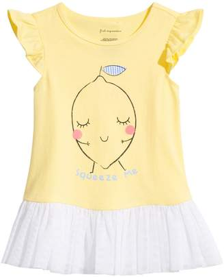 First Impressions Baby Girl's Squeeze Me Graphic Top