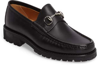 2c5bdc48913 Mens Gucci Loafer With Lug Sole