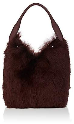 Anya Hindmarch Women's Small Shearling & Leather Bucket Bag