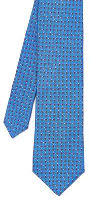 J.Mclaughlin Italian Silk Tie in Golf Tee