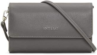 Matt & Nat DREW Mini Crossbody Bag - Shadow