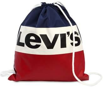 Levi's Logo Nylon Sack Backpack