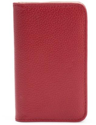 Dopp Roma Pik-Me-Up Leather Snap Card Case