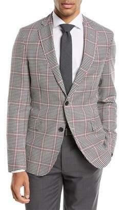 BOSS Windowpane Wool Sport Coat