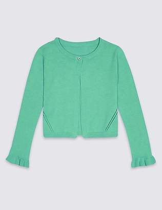 Marks and Spencer Pure Cotton Cardigan (3 Months - 7 Years)