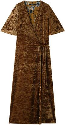 American Rag (アメリカン ラグ) - アメリカンラグ シー VELVET CROSSED DRESS