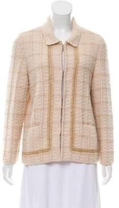 Salvatore Ferragamo Button-Up Wool Cardigan