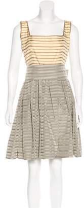 Oscar de la Renta Vintage Taffeta Dress