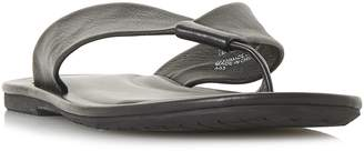 Dune Idle Leather Toe Post Sandals