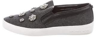 MICHAEL Michael Kors Embellished Slip-On Sneakers