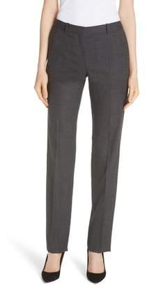 BOSS Tamea Tropical Stretch Wool Trousers