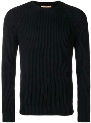 Nuur ribbed long-sleeve sweater