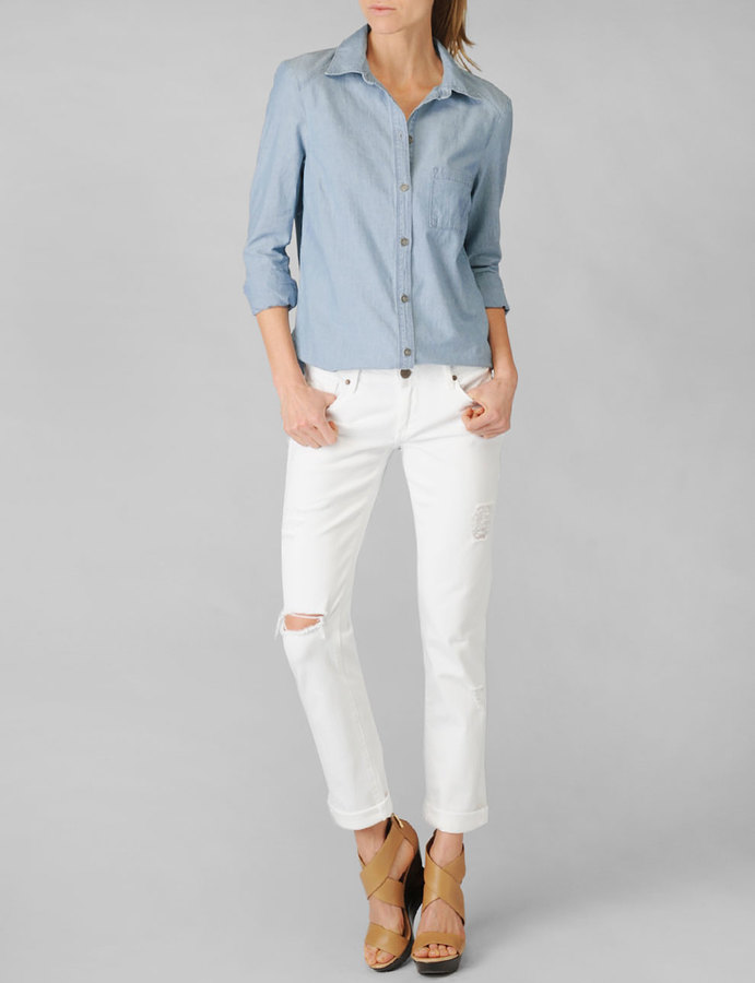 Paige Eden Shirt - Ava Chambray