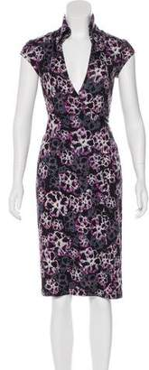 Diane von Furstenberg Silk Mr. Mao Dress