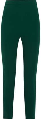 Brandon Maxwell Stretch-crepe Skinny Pants