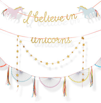 Celebrate Shop I Believe in Unicorns Banner