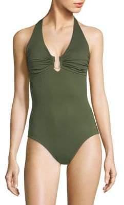 Melissa Odabash One-Piece Cutout Swimsuit
