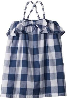 Mud Pie Gingham Sleeveless Sun Dress Girl's Dress