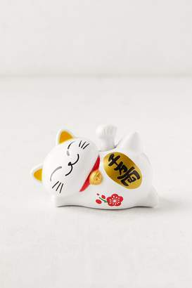 Solar Charged Lucky Cat Figure