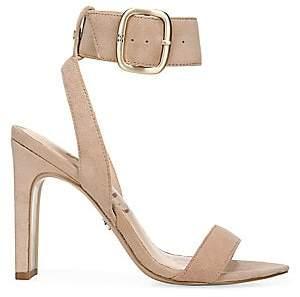 Sam Edelman Women's Yola Suede Ankle-Strap Sandals