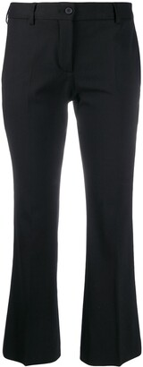 Alberto Biani cropped tailored trousers
