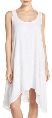 Hard Tail Scoop Neck Cotton Dress $96 thestylecure.com