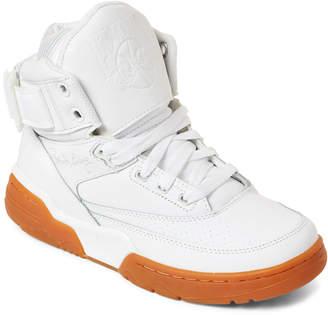 4e6a68537975 Patrick Ewing (Kids Boys) White   Gum 33 High-Top Sneakers
