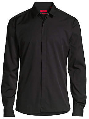 HUGO Men's Ero Extra Slim-Fit Shirt