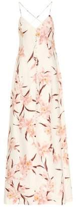 Zimmermann Corsage linen maxi dress