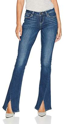 Paige Women's Lou Flare Twisted Seams Jeans