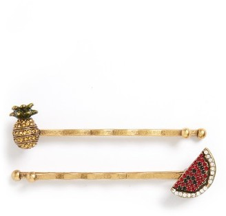 Marc By Marc Jacobs Set Of 2 Bobby Pins $45 thestylecure.com