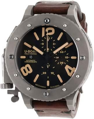 U-Boat Men's 6475 U-42 Analog Display Swiss Automatic Brown Watch