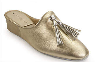 Jacques Levine #17996 - Tassel Slipper