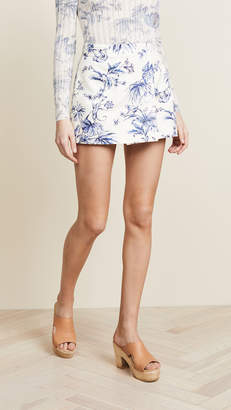 RED Valentino Floral Mini Skort