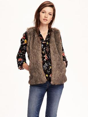 Faux-Fur Vest for Women $42.94 thestylecure.com