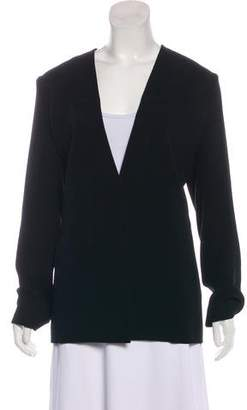 Alexander Wang Structured Open-Front Blazer