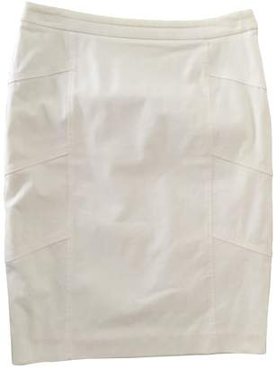 Laurèl White Cotton Skirt for Women
