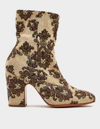 Rachel Comey Saco Boot in Ivory Tapestry