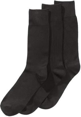 Perry Ellis Men 3-Pk. Stay Dry Comfort Socks