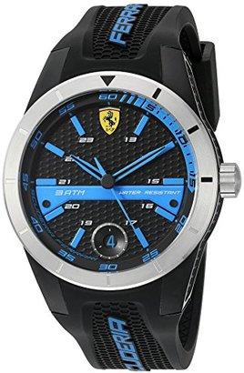 Ferrari (フェラーリ) - Ferrari 830252 'RED REV T' Quartz Resin and Silicone Watch
