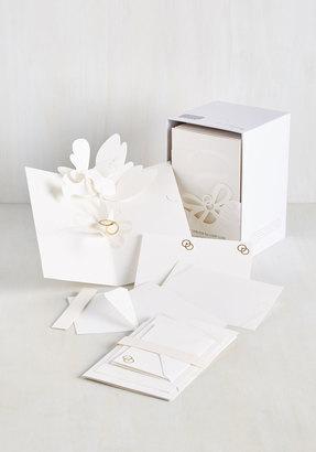 Love Is Patient, Dove Is Kind Wedding Invitation Set $119.99 thestylecure.com