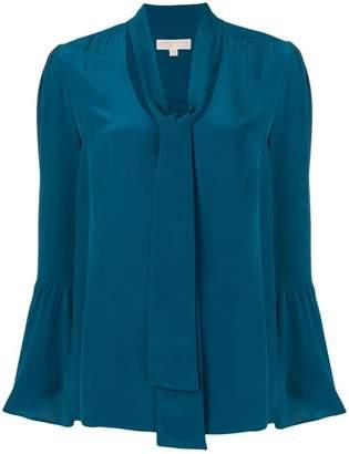 MICHAEL Michael Kors flared tie-collar blouse