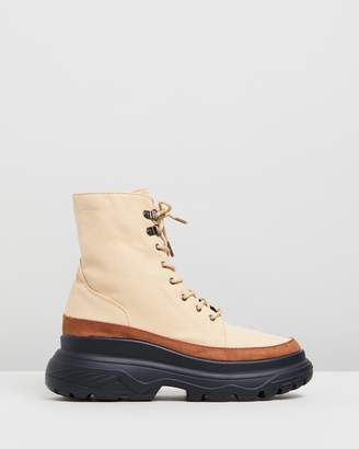 Missguided Extreme Sole Hiking Boots