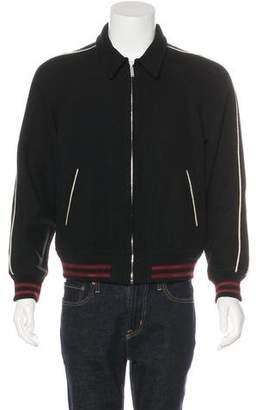 Saint Laurent 2016 Wool Zip Jacket