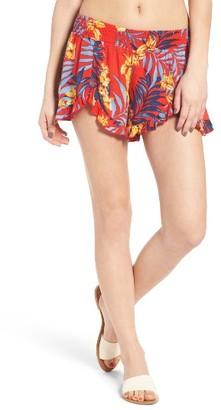 Women's Rip Curl Tropicana Print Shorts $39.50 thestylecure.com