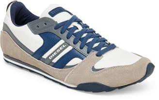Diesel Stone & Grey Long Term Gunner Sneakers