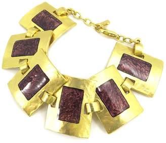 Dolce Vita Bracelet of 'french touch' 'Zen' golden / plum.