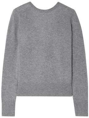 Equipment Dante Wrap-effect Cashmere Sweater