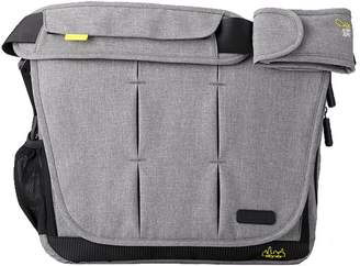 BabaBing Bababing! BABABING! DAYTRIPPER City Deluxe CHANGING BAG WITH INTEGRATED MAT GREY